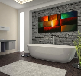 Ambient Light modern painting