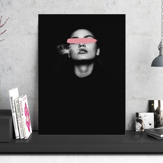 Tableau Photo Aluminium Censure