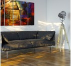 Labyrinth Wall Canvas Painting