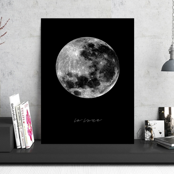 Tableau Aluminium Pleine Lune