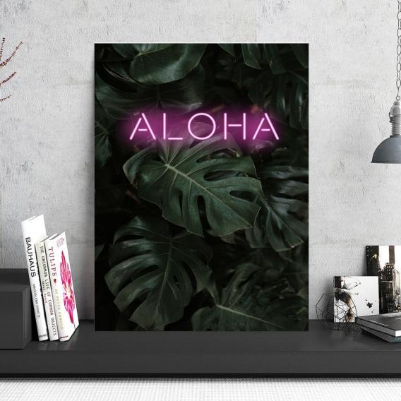 Tableau Tendance Aluminium Aloha