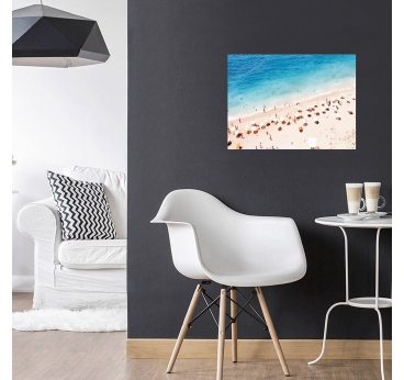 Modern Frame Aluminum Beach