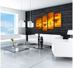 Abstract Bubbles modern painting
