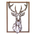 Deer Wood Wall Decoration