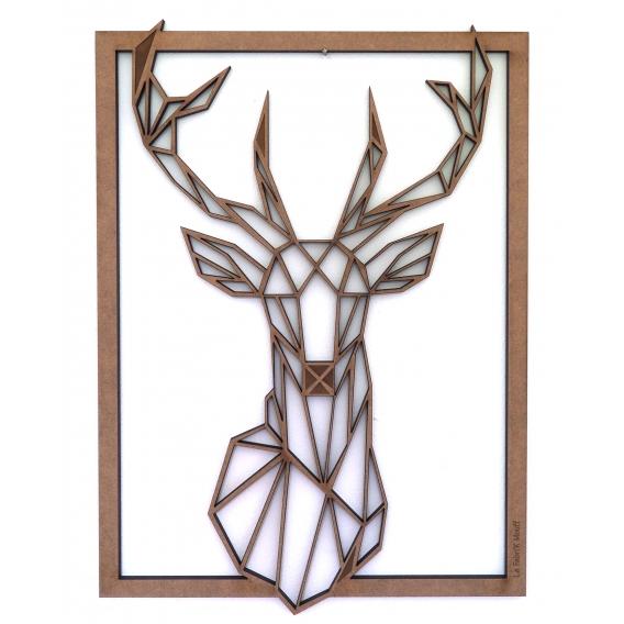 Deer Wood Wall Decoration