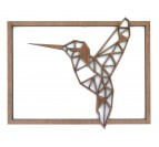 Hummingbird Wood Wall Decoration