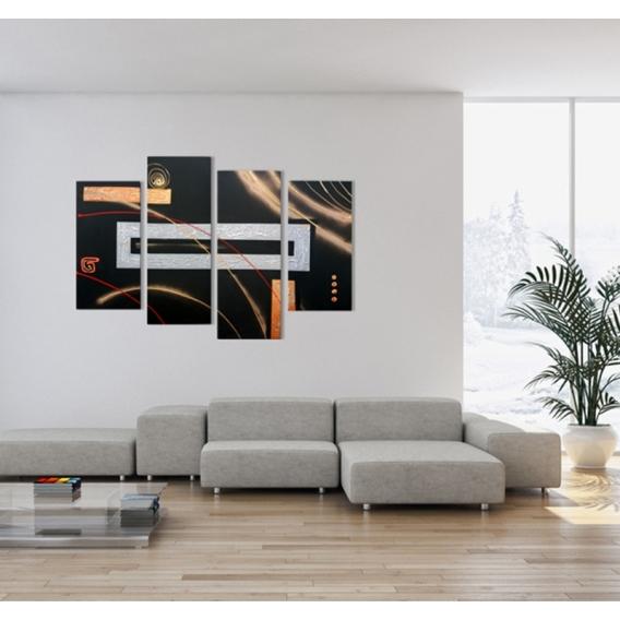 Abstract Space Tableau Peinture