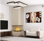 White Flower Design Painting