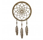 Dreamcatcher Wood Decoration