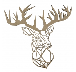 Deer Wood Design Decoration