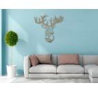 Deer Wood Design Decoration