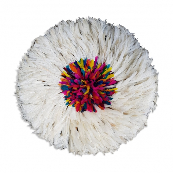 Juju Hat Blanc Multicolore