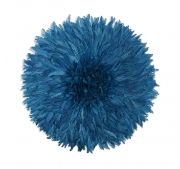 Turquoise blue juju hat