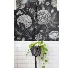 Papier Peint Jardin Noir