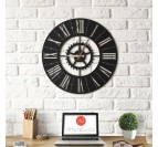 Europe Metal Clock