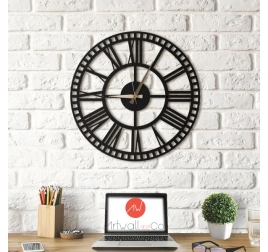 Horloge deco métal