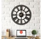 Horloge Métal Rail