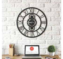 Horloge Mur deco métal