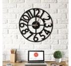 Horloge design métallique