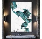 Tableau Abstrait Dancing Marble