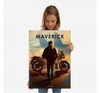 Poster Métal Maverick