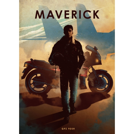 Maverick Metal Poster