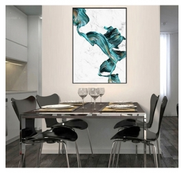 Abstract Marble Design Canvas