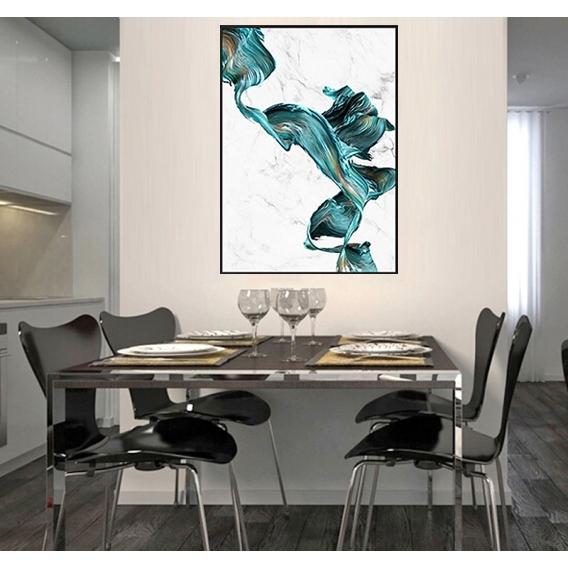 Tableau Abstrait Marbre Design