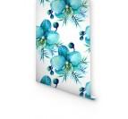 Papier Peint Orchidée Bleue