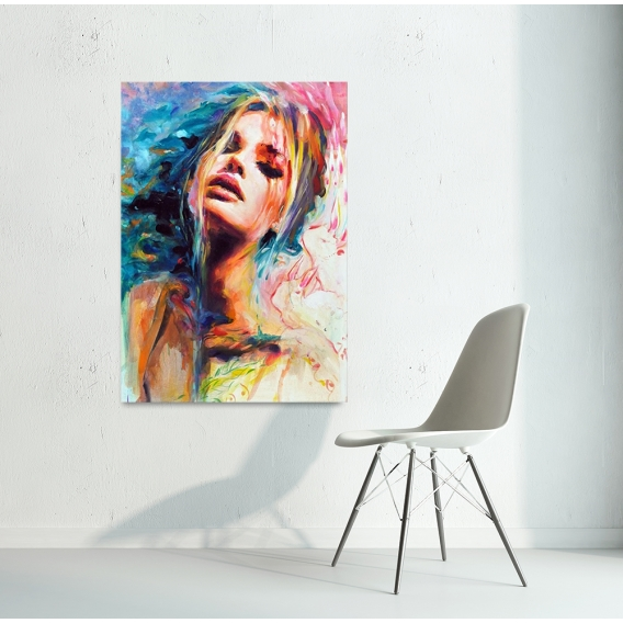 Toile Peinture Design Sensuelle
