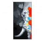 Ivory Elephant Decoration Painting