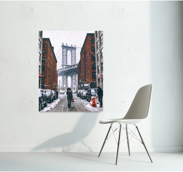 Photo d'art NYC Neige