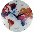Horloge Murale Moderne Monde