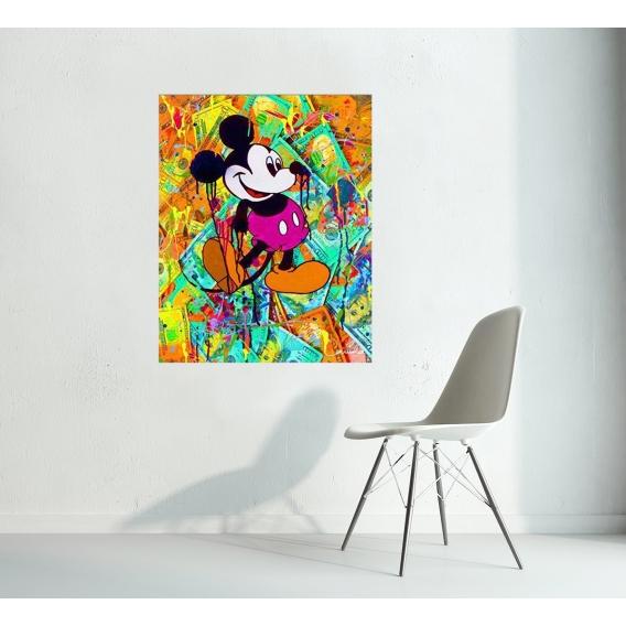Modern Canvas Cash Mickey