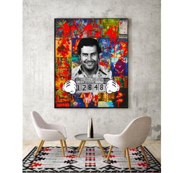 Tableau Pop Art Pablo Mickey