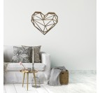 Heart Wood Wall Decoration