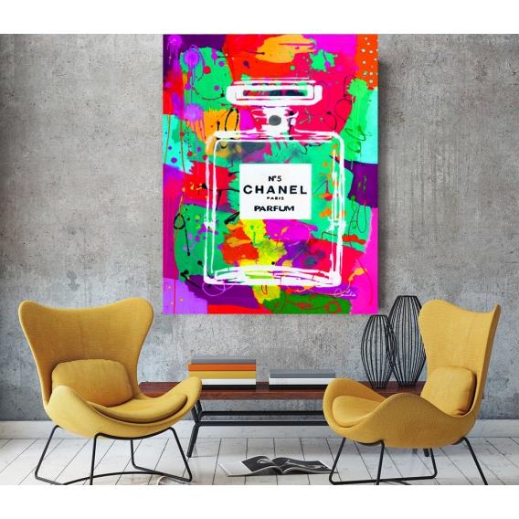 Chanel 3 Canvas Print