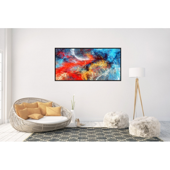 Fusion Framed Contemporary Canvas