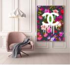 Chanel Flower Modern Canvas