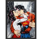 Time Square Kiss Canvas