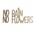 No rain no flowers