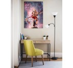 Harley Quinn Wall Canvas