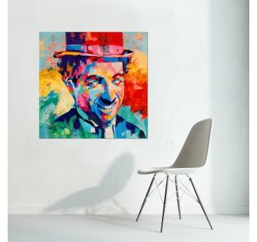 Pop Art Chaplin Painting