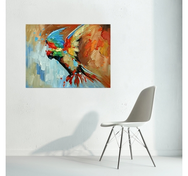 Peinture Perroquet