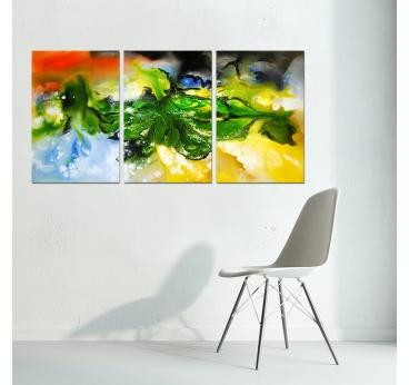 Peinture Abstraite illusion
