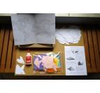 Décoration Papier Carte Noire