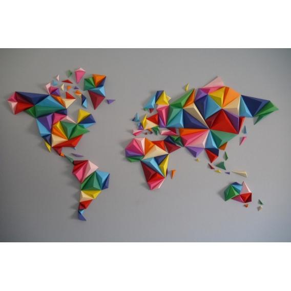 Décoration Papier Carte Multicolore