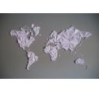 MappeMonde Papier Blanche