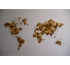 Autumn Paper World Map