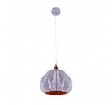 Luminaire Suspendu Géométrique Blanc